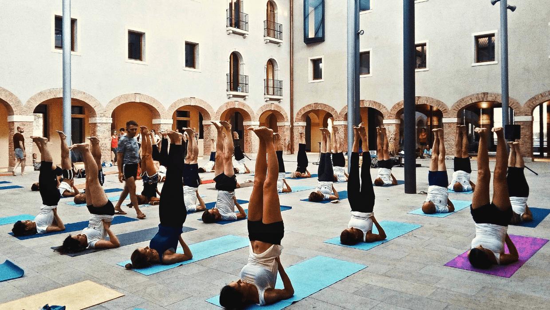 Arte Yoga Palestra Yoga a Mestre
